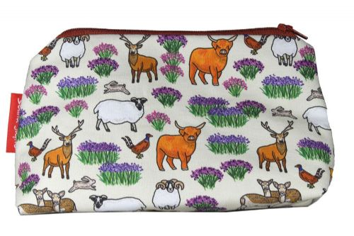 Selina-Jayne Scottish Highlands Limited Edition Designer Cosmetic Bag